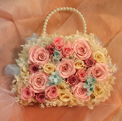 花ギフト|フラワーギフト|誕生日 花|カノシェ話題|スタンド花|ウエディングブーケ|花束|花屋|ふくよさん バッグ