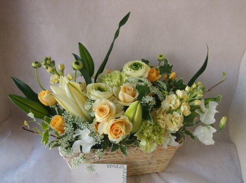 花ギフト|フラワーギフト|誕生日 花|カノシェ話題|スタンド花|ウエディングブーケ|花束|花屋|46177