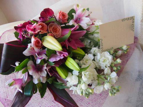 花ギフト|フラワーギフト|誕生日 花|カノシェ話題|スタンド花|ウエディングブーケ|花束|花屋|46196