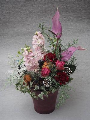 花ギフト|フラワーギフト|誕生日 花|カノシェ話題|スタンド花|ウエディングブーケ|花束|花屋|2015_xmas_a3
