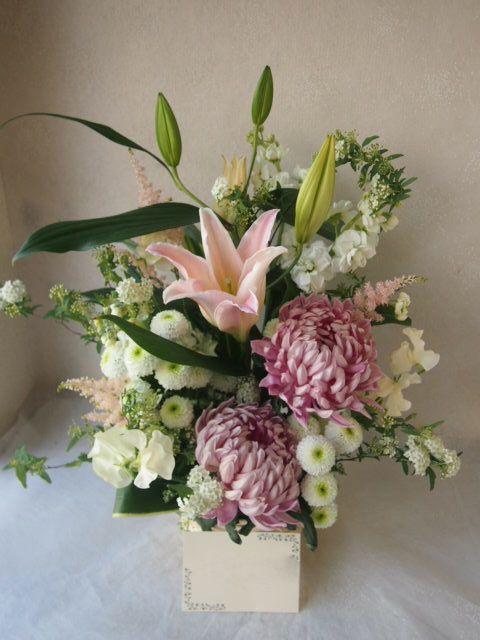 花ギフト|フラワーギフト|誕生日 花|カノシェ話題|スタンド花|ウエディングブーケ|花束|花屋|54156