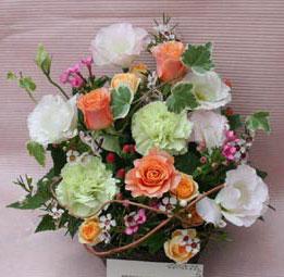 花ギフト|フラワーギフト|誕生日 花|カノシェ話題|スタンド花|ウエディングブーケ|花束|花屋|まさみオレンジ