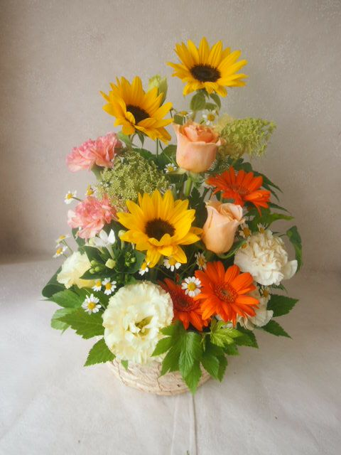 花ギフト|フラワーギフト|誕生日 花|カノシェ話題|スタンド花|ウエディングブーケ|花束|花屋|48265(1)