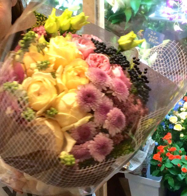 花ギフト|フラワーギフト|誕生日 花|カノシェ話題|スタンド花|ウエディングブーケ|花束|花屋|IMG_5950
