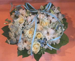 花ギフト フラワーギフト 誕生日 花 カノシェ話題 スタンド花 ウエディングブーケ 花束 花屋 るみコットン