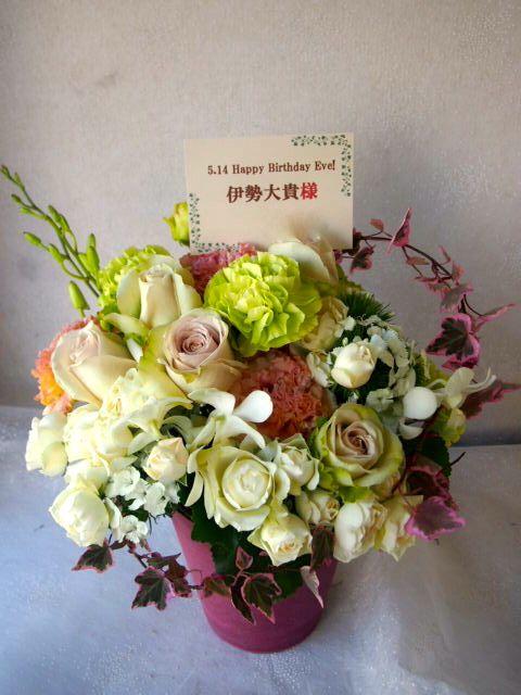 花ギフト|フラワーギフト|誕生日 花|カノシェ話題|スタンド花|ウエディングブーケ|花束|花屋|55855