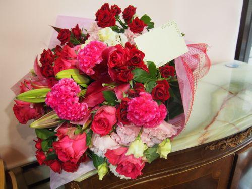 花ギフト|フラワーギフト|誕生日 花|カノシェ話題|スタンド花|ウエディングブーケ|花束|花屋|56874