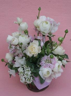 花ギフト|フラワーギフト|誕生日 花|カノシェ話題|スタンド花|ウエディングブーケ|花束|花屋|2012_whiteday_a2