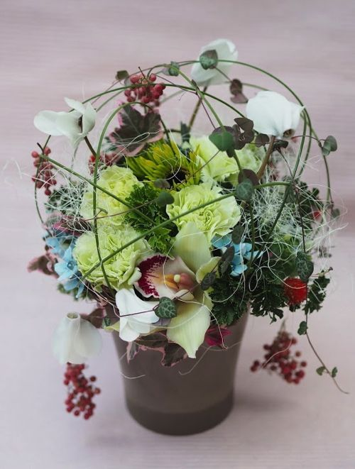 花ギフト|フラワーギフト|誕生日 花|カノシェ話題|スタンド花|ウエディングブーケ|花束|花屋|PB190646