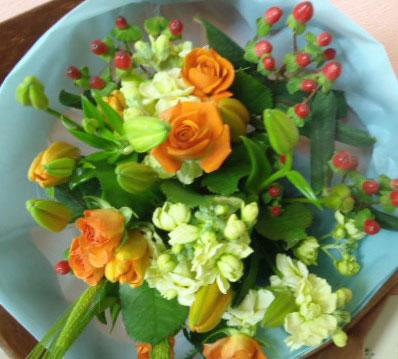 花ギフト フラワーギフト 誕生日 花 カノシェ話題 スタンド花 ウエディングブーケ 花束 花屋 chika-or