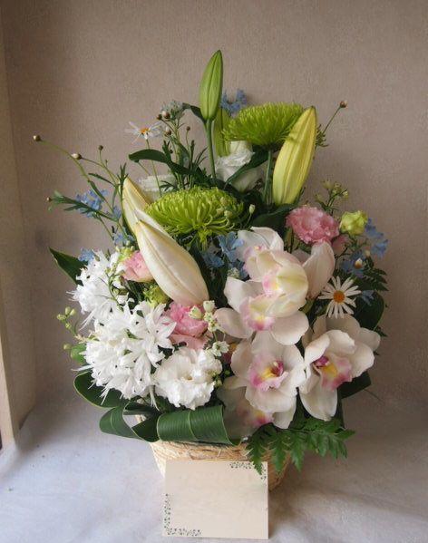 花ギフト|フラワーギフト|誕生日 花|カノシェ話題|スタンド花|ウエディングブーケ|花束|花屋|51817