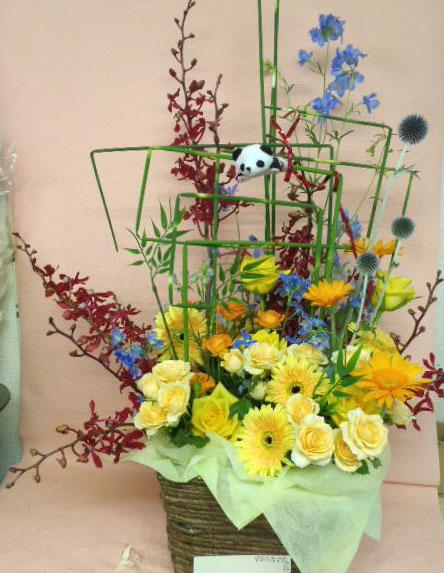 花ギフト|フラワーギフト|誕生日 花|カノシェ話題|スタンド花|ウエディングブーケ|花束|花屋|ちかパンダ