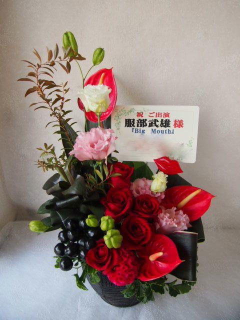 花ギフト|フラワーギフト|誕生日 花|カノシェ話題|スタンド花|ウエディングブーケ|花束|花屋|57853(1)