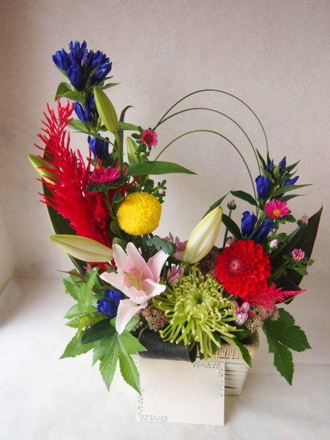 花ギフト|フラワーギフト|誕生日 花|カノシェ話題|スタンド花|ウエディングブーケ|花束|花屋|50370