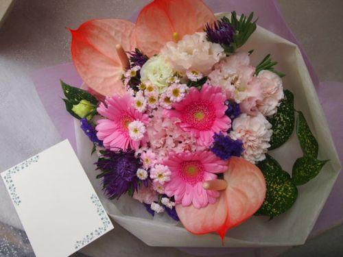 花ギフト|フラワーギフト|誕生日 花|カノシェ話題|スタンド花|ウエディングブーケ|花束|花屋|48648