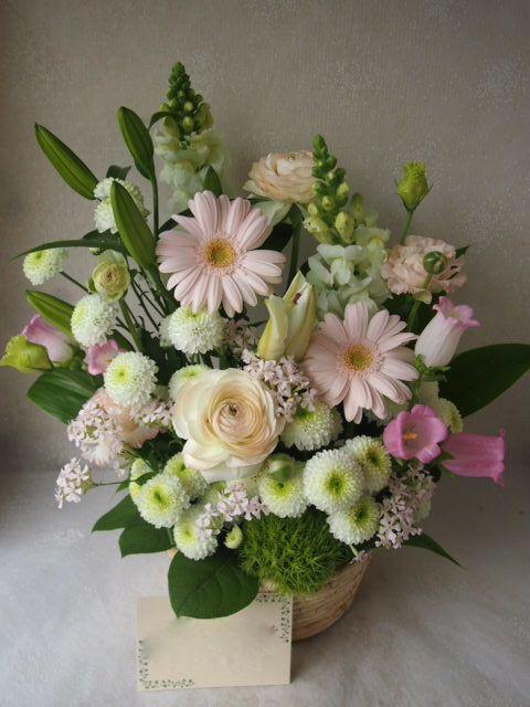 花ギフト|フラワーギフト|誕生日 花|カノシェ話題|スタンド花|ウエディングブーケ|花束|花屋|54837