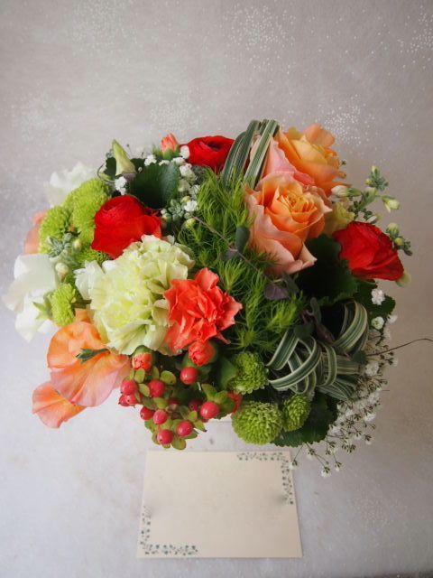 花ギフト|フラワーギフト|誕生日 花|カノシェ話題|スタンド花|ウエディングブーケ|花束|花屋|53292