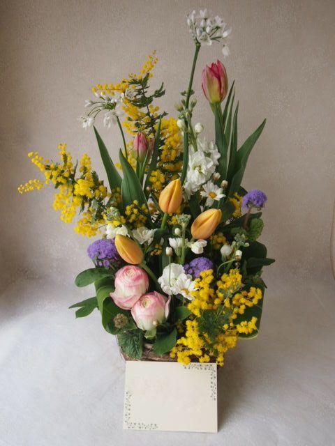 花ギフト|フラワーギフト|誕生日 花|カノシェ話題|スタンド花|ウエディングブーケ|花束|花屋|53461