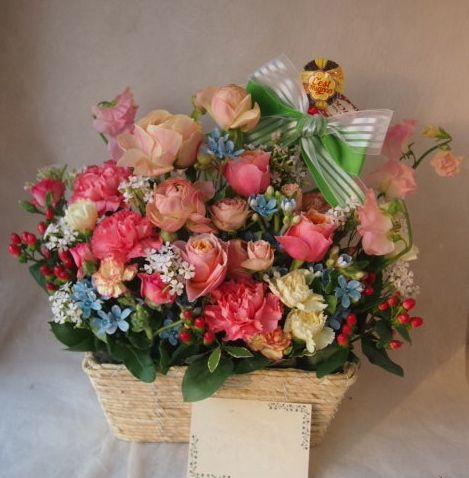 花ギフト|フラワーギフト|誕生日 花|カノシェ話題|スタンド花|ウエディングブーケ|花束|花屋|46280