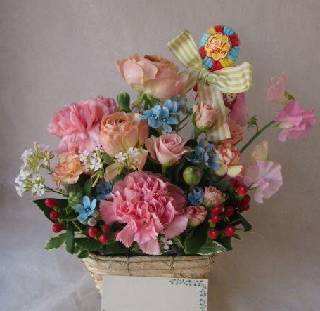 花ギフト|フラワーギフト|誕生日 花|カノシェ話題|スタンド花|ウエディングブーケ|花束|花屋|46251
