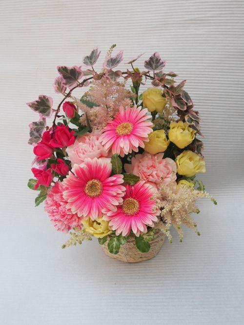 花ギフト|フラワーギフト|誕生日 花|カノシェ話題|スタンド花|ウエディングブーケ|花束|花屋|55997(1)