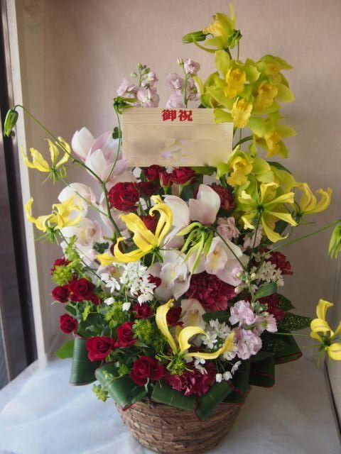 花ギフト|フラワーギフト|誕生日 花|カノシェ話題|スタンド花|ウエディングブーケ|花束|花屋|46384
