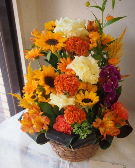 花ギフト|フラワーギフト|誕生日 花|カノシェ話題|スタンド花|ウエディングブーケ|花束|花屋|49470