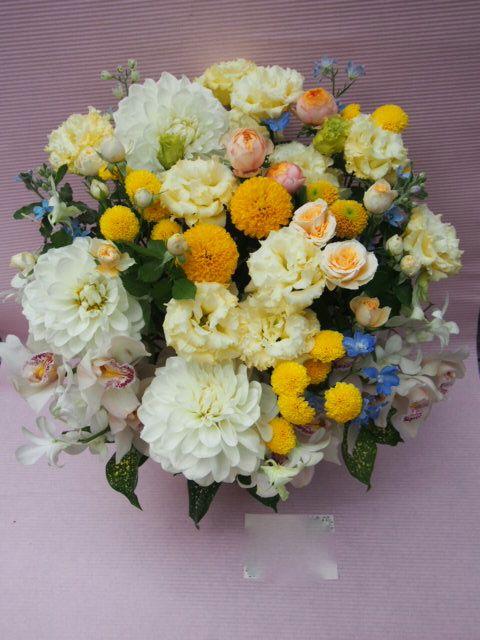 花ギフト|フラワーギフト|誕生日 花|カノシェ話題|スタンド花|ウエディングブーケ|花束|花屋|51501