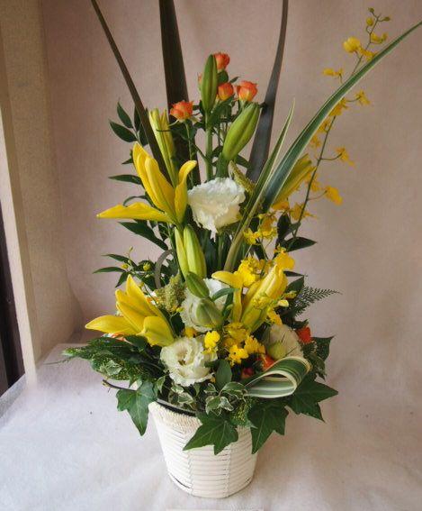 花ギフト|フラワーギフト|誕生日 花|カノシェ話題|スタンド花|ウエディングブーケ|花束|花屋|43087
