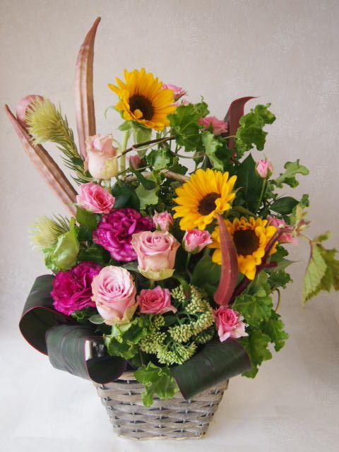 花ギフト|フラワーギフト|誕生日 花|カノシェ話題|スタンド花|ウエディングブーケ|花束|花屋|49672