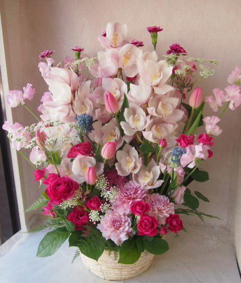 花ギフト|フラワーギフト|誕生日 花|カノシェ話題|スタンド花|ウエディングブーケ|花束|花屋|46642