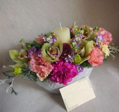 花ギフト|フラワーギフト|誕生日 花|カノシェ話題|スタンド花|ウエディングブーケ|花束|花屋|52602