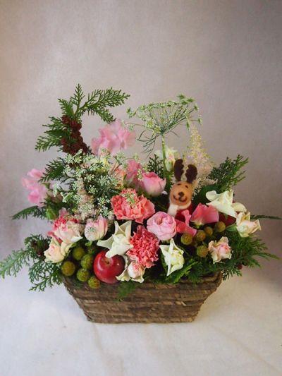 花ギフト|フラワーギフト|誕生日 花|カノシェ話題|スタンド花|ウエディングブーケ|花束|花屋|37454