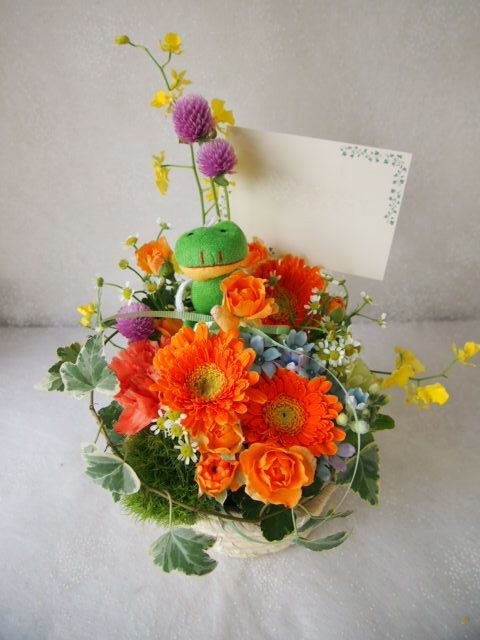 花ギフト|フラワーギフト|誕生日 花|カノシェ話題|スタンド花|ウエディングブーケ|花束|花屋|58354