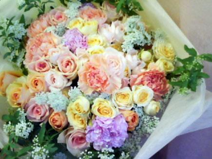 花ギフト|フラワーギフト|誕生日 花|カノシェ話題|スタンド花|ウエディングブーケ|花束|花屋|hanataba-bara