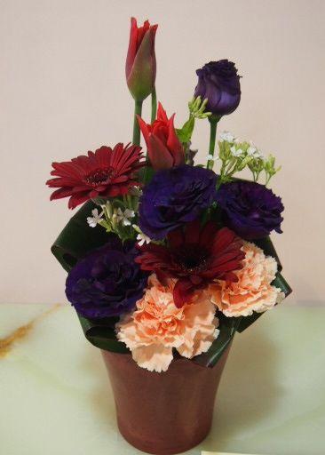 花ギフト|フラワーギフト|誕生日 花|カノシェ話題|スタンド花|ウエディングブーケ|花束|花屋|53876