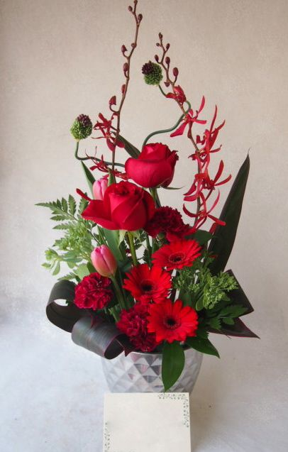 花ギフト|フラワーギフト|誕生日 花|カノシェ話題|スタンド花|ウエディングブーケ|花束|花屋|54458