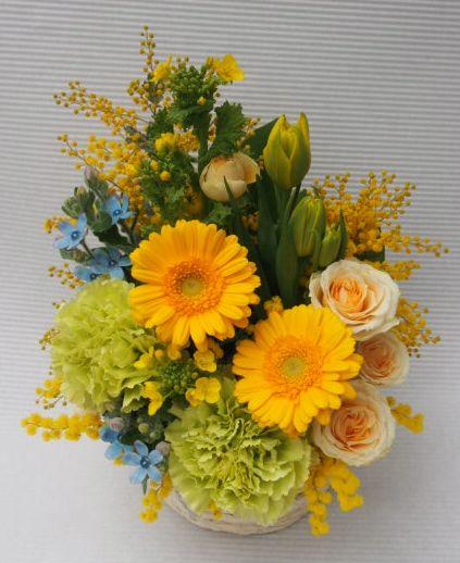 花ギフト|フラワーギフト|誕生日 花|カノシェ話題|スタンド花|ウエディングブーケ|花束|花屋|54178(1)