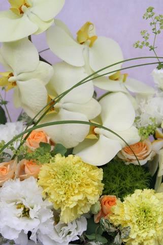 花ギフト フラワーギフト 誕生日 花 カノシェ話題 スタンド花 ウエディングブーケ 花束 花屋 IMG_7590