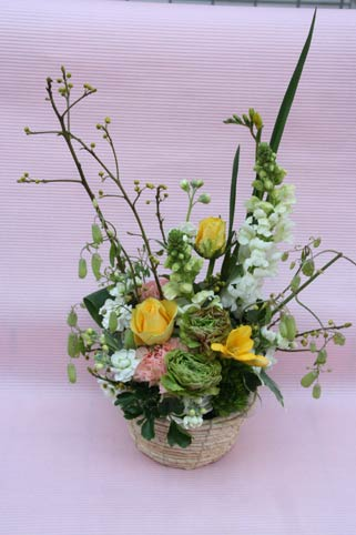 花ギフト|フラワーギフト|誕生日 花|カノシェ話題|スタンド花|ウエディングブーケ|花束|花屋|IMG_6175