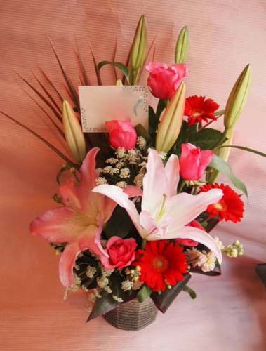 花ギフト|フラワーギフト|誕生日 花|カノシェ話題|スタンド花|ウエディングブーケ|花束|花屋|37030