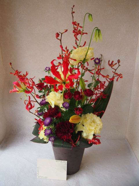 花ギフト|フラワーギフト|誕生日 花|カノシェ話題|スタンド花|ウエディングブーケ|花束|花屋|56753
