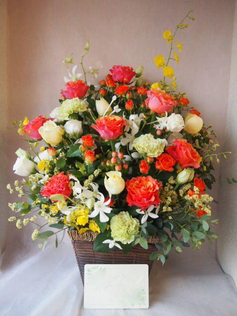 花ギフト|フラワーギフト|誕生日 花|カノシェ話題|スタンド花|ウエディングブーケ|花束|花屋|43704