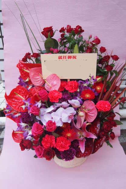 花ギフト|フラワーギフト|誕生日 花|カノシェ話題|スタンド花|ウエディングブーケ|花束|花屋|P6193128