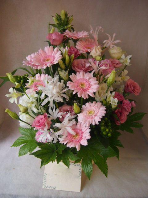 花ギフト|フラワーギフト|誕生日 花|カノシェ話題|スタンド花|ウエディングブーケ|花束|花屋|43261(1)