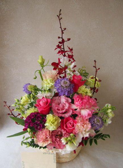 花ギフト|フラワーギフト|誕生日 花|カノシェ話題|スタンド花|ウエディングブーケ|花束|花屋|55339