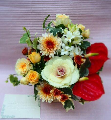 花ギフト|フラワーギフト|誕生日 花|カノシェ話題|スタンド花|ウエディングブーケ|花束|花屋|52865