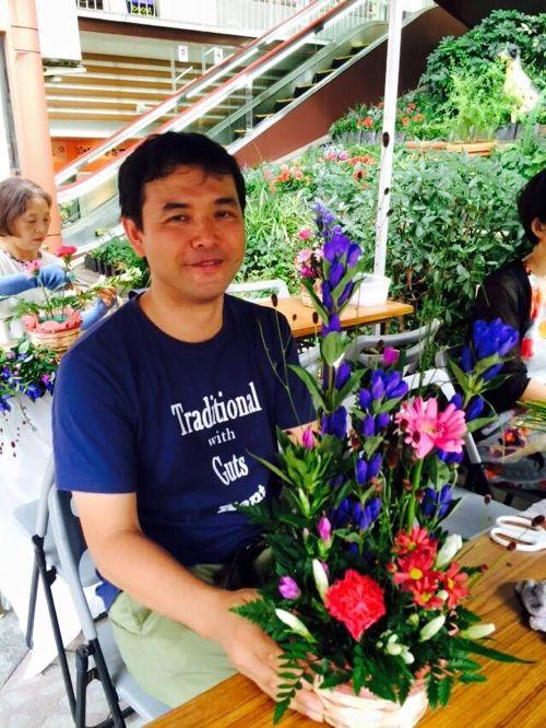 花ギフト|フラワーギフト|誕生日 花|カノシェ話題|スタンド花|ウエディングブーケ|花束|花屋|IMG_7094