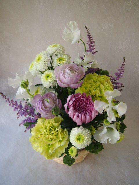 花ギフト|フラワーギフト|誕生日 花|カノシェ話題|スタンド花|ウエディングブーケ|花束|花屋|54484