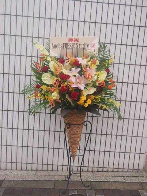 花ギフト|フラワーギフト|誕生日 花|カノシェ話題|スタンド花|ウエディングブーケ|花束|花屋|49437